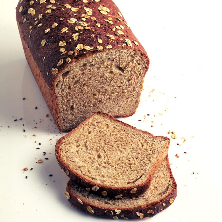 El pan de grano germinado es más bajo en carbohidratos