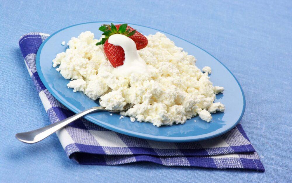 El queso cottage puede ayudarle a perder peso