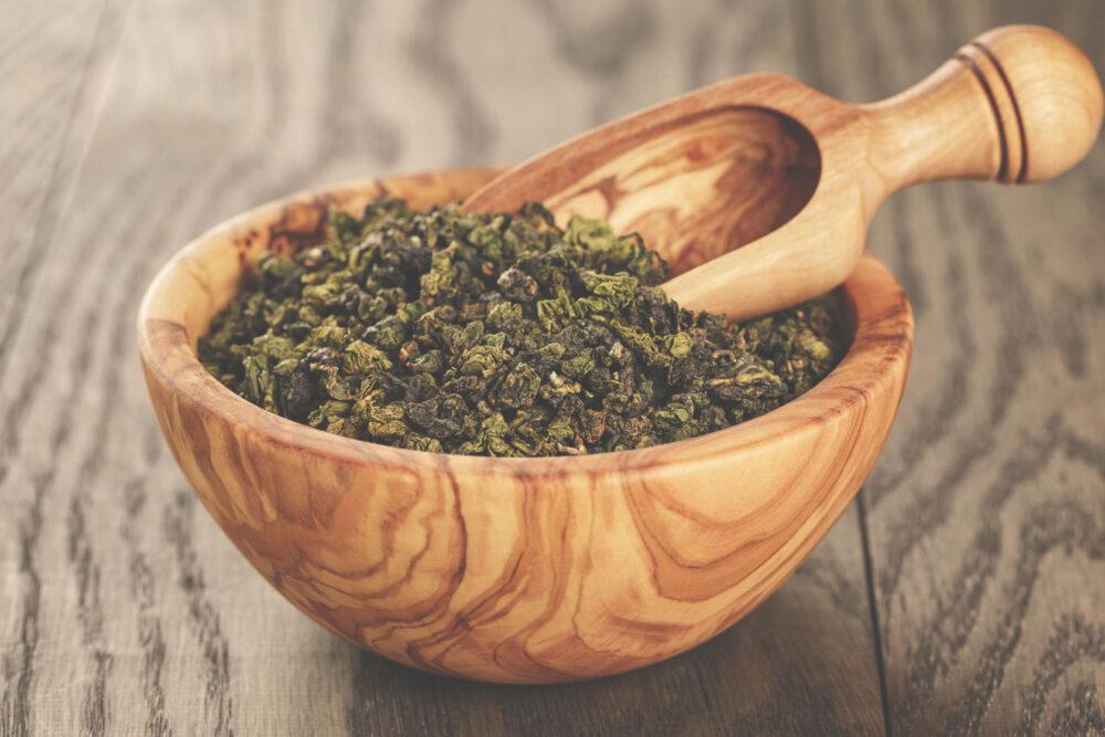 El té oolong promueve la fortaleza de los dientes y los huesos