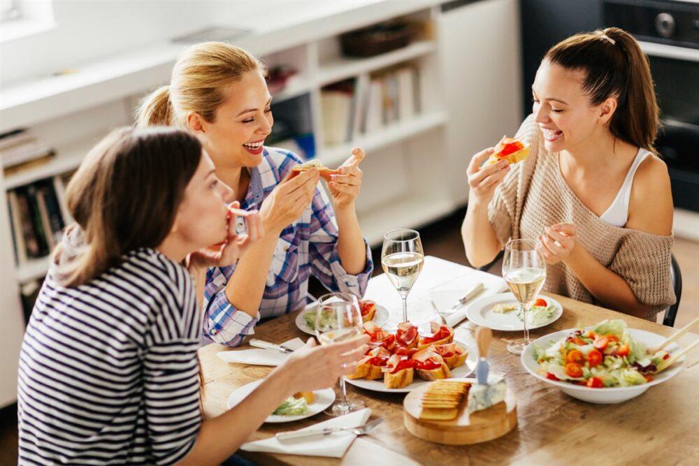 Elija sus compañeros de comida sabiamente