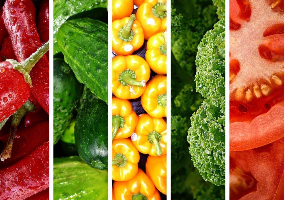 Enfatice las verduras sin almidón