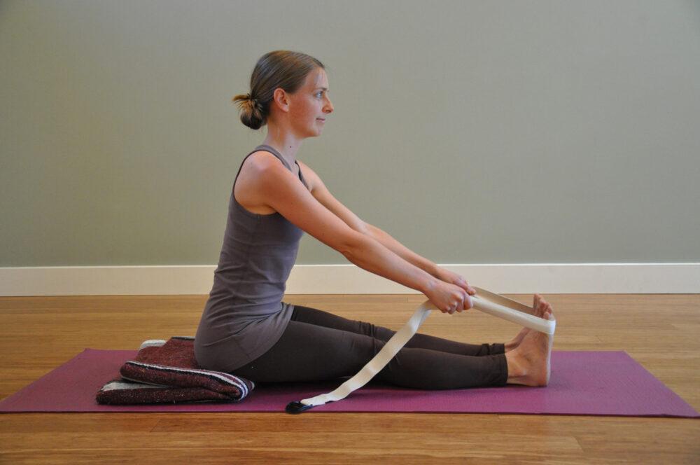 Estiramiento para aliviar el dolor de espalda baja