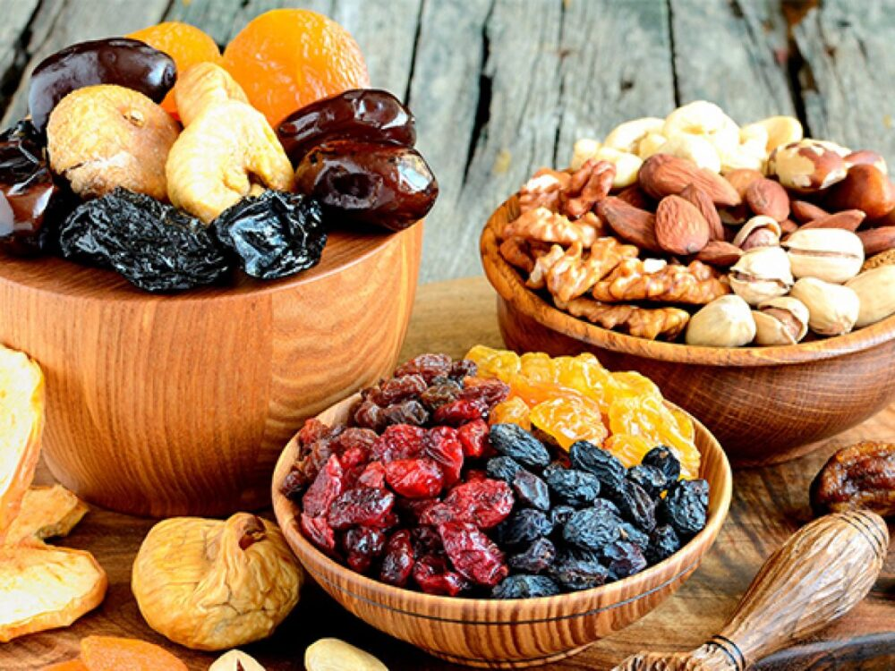 Fruta seca: ¿Bueno o malo?