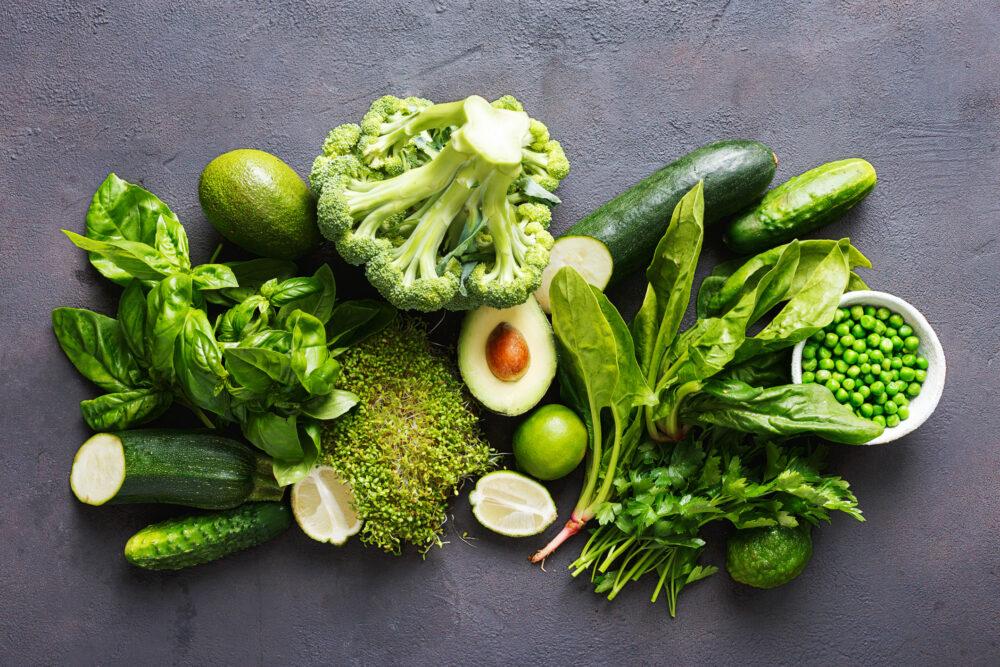 Fuentes alimenticias de la vitamina K1