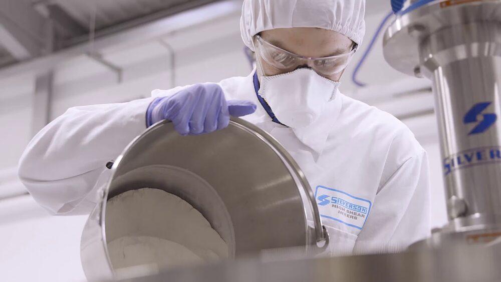 Goma de mascar Xantana para productos industriales