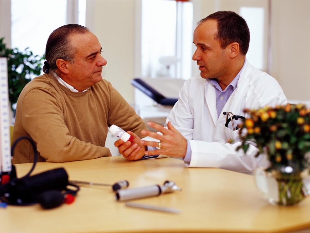 Hable con su médico antes de cambiar su dieta