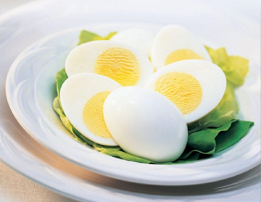 Huevos enteros