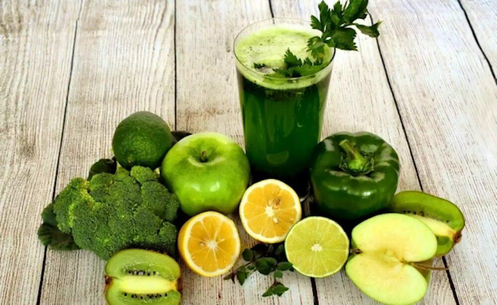 Jugo verde para diabeticos