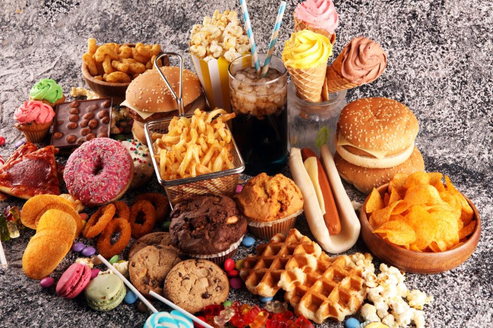La comida chatarra puede ser adictiva