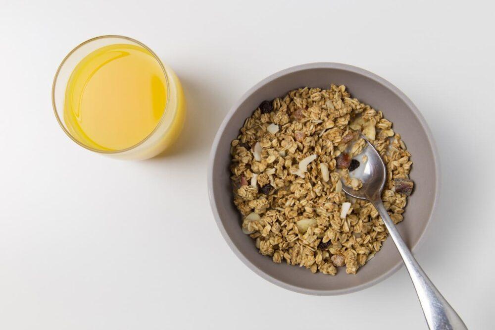 La dieta de cereales es alta en azúcar