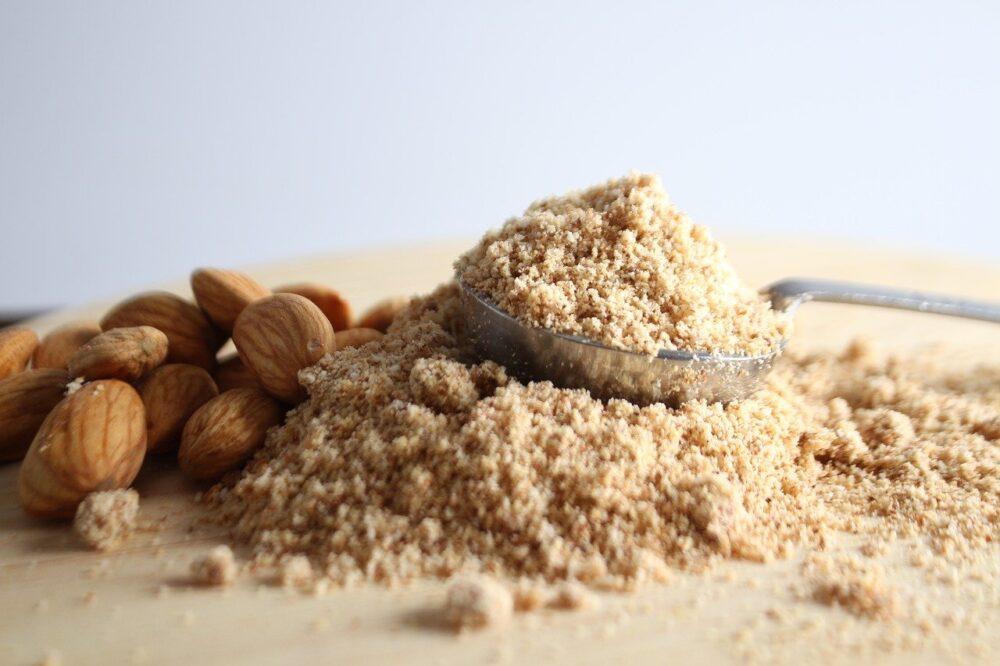 La harina de almendra no contiene gluten