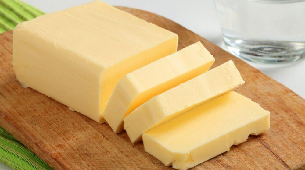 La mantequilla Contiene butirato