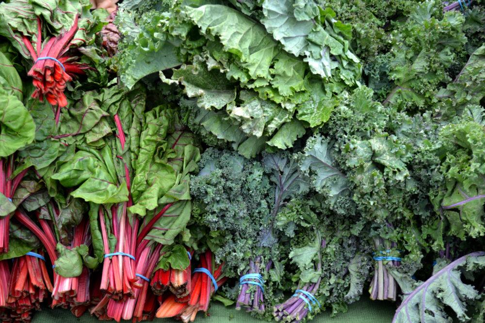 Las 13 verduras de hoja verde más saludables