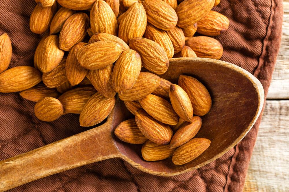 Las almendras están cargadas de antioxidantes