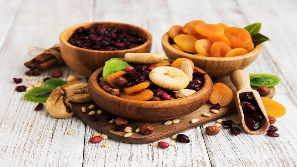 Las frutas secas están cargadas de micronutrientes, fibra y antioxidantes