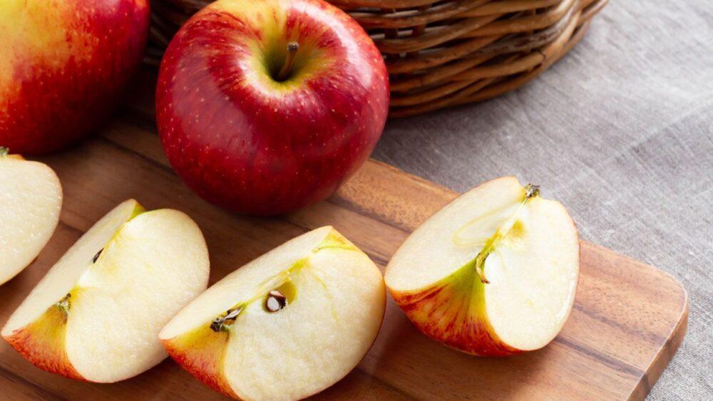 Las manzanas pueden ser buenas para la salud de los huesos