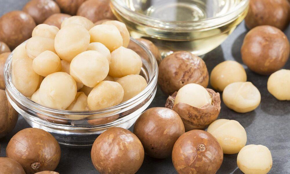 Las nueces de macadamia