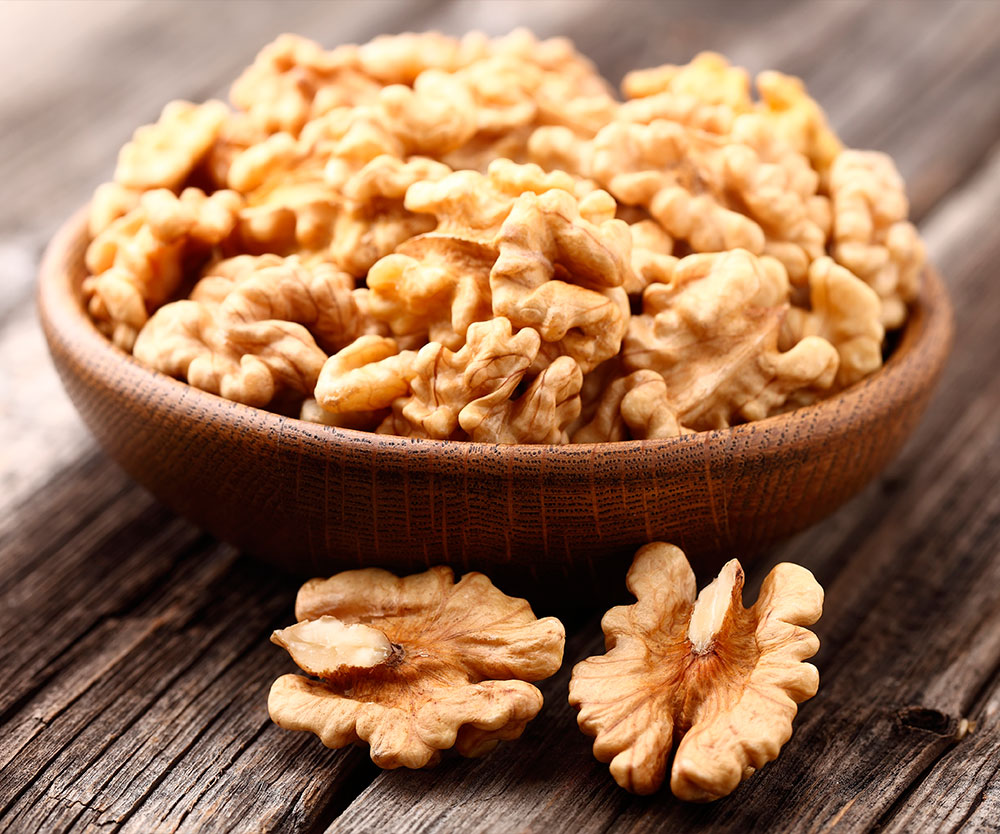 Las nueces pueden aumentar la quema de grasa y calorías