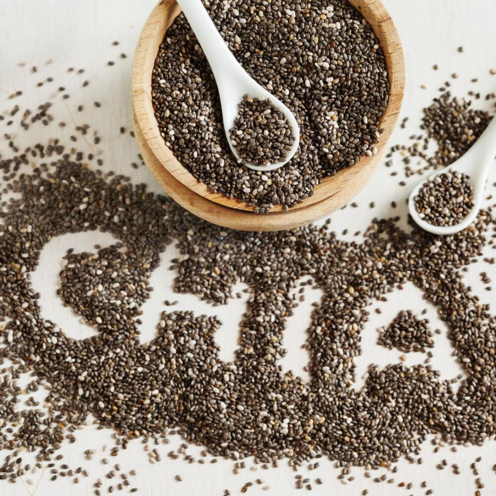 Las semillas de Chia tienen una alta calidad de proteína
