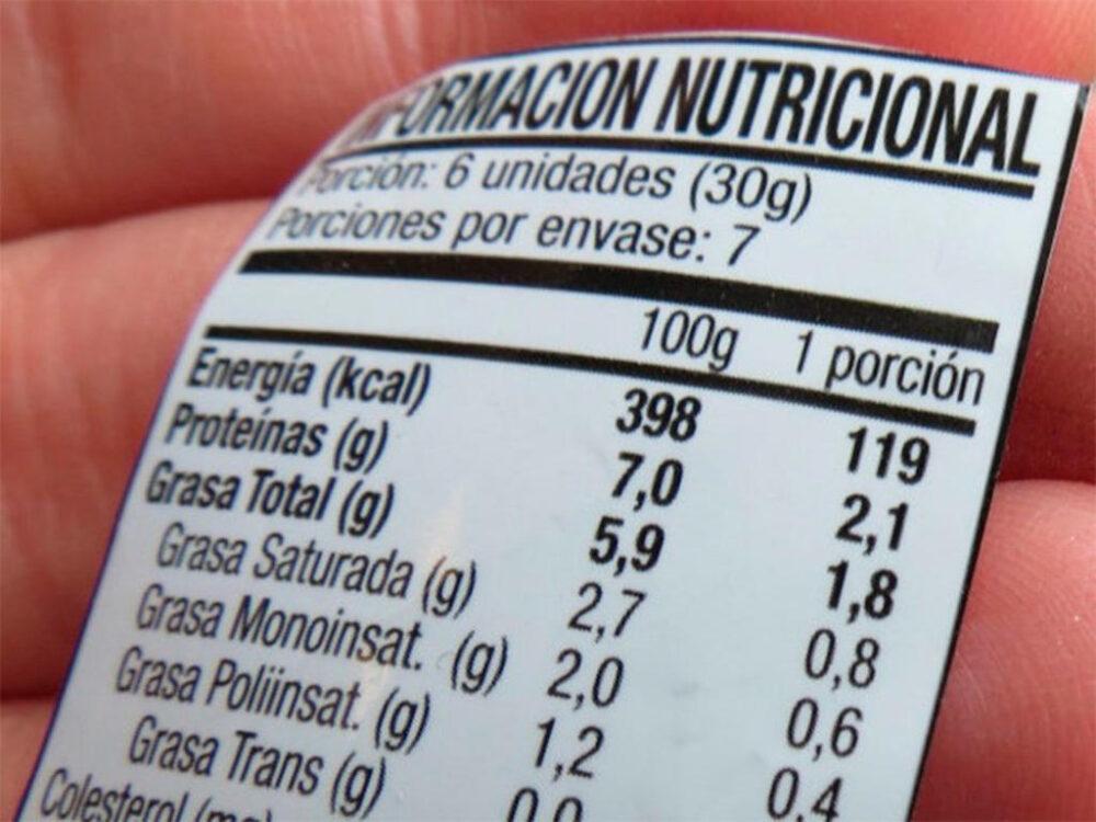 Leer las etiquetas de los alimentos te ayuda a bajar el consumo de carbohidratos