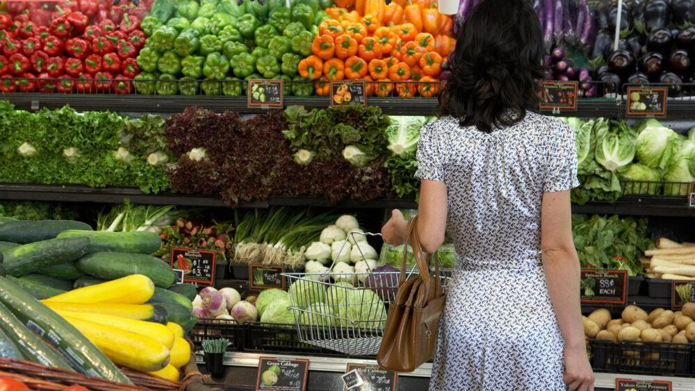 Lista de compras vegana