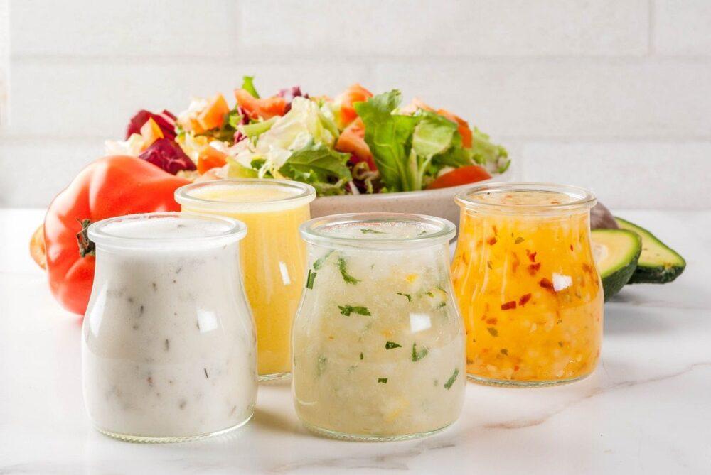Los 20 mejores aderezos para ensaladas saludables