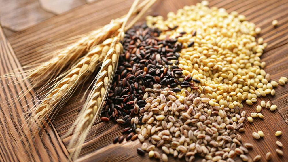 Los granos integrales contienen fosforo