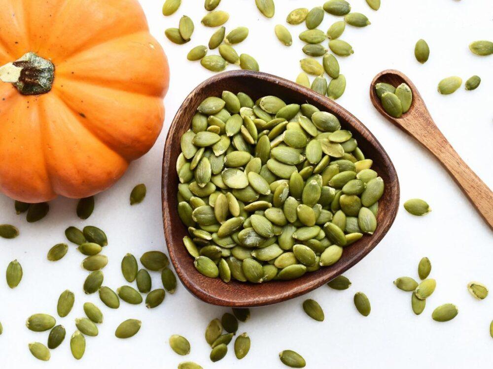 Los nutrientes de las semillas de calabaza pueden ayudar a mantener su corazón saludable
