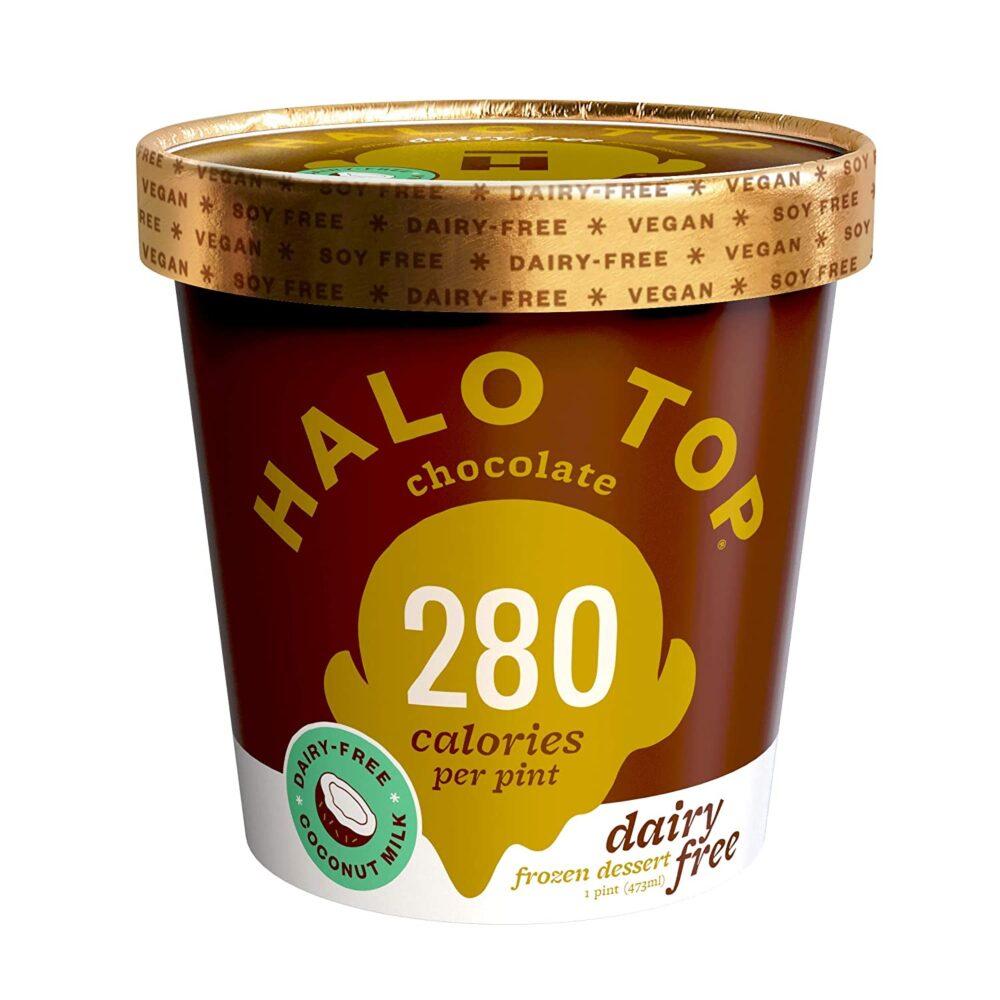 Nutrición con helado halo top
