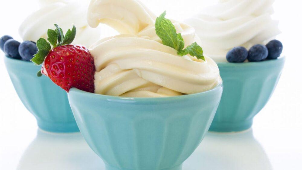 Yogur helado: ¿Un postre saludable que es bajo en calorías?