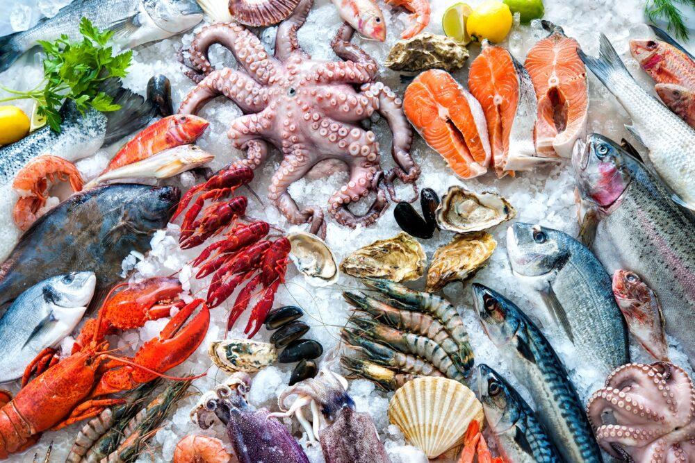 Pescado y mariscos