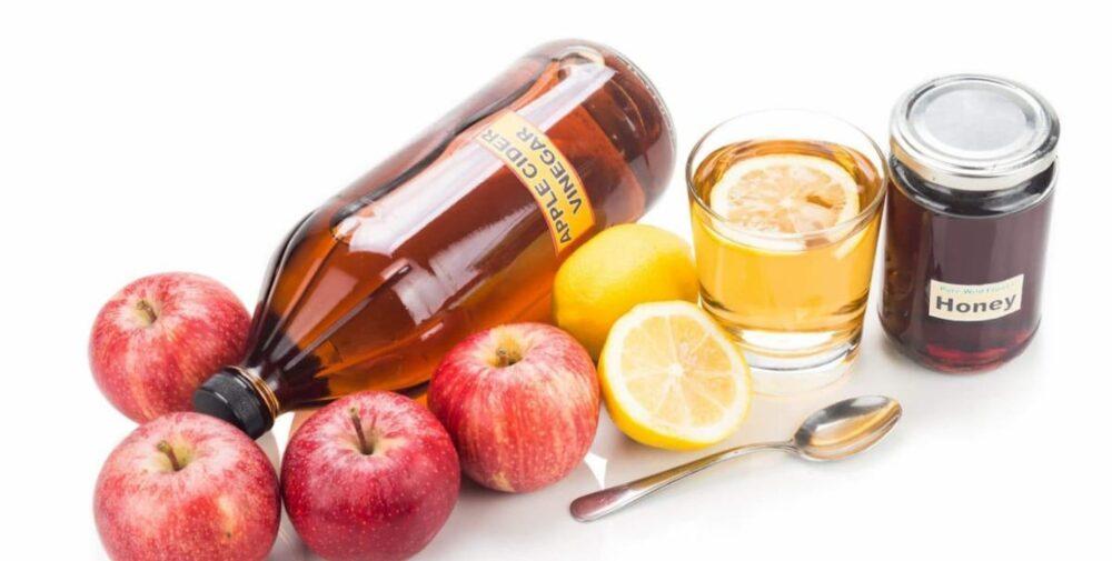 ¿Deberías mezclar vinagre de sidra de manzana y miel?