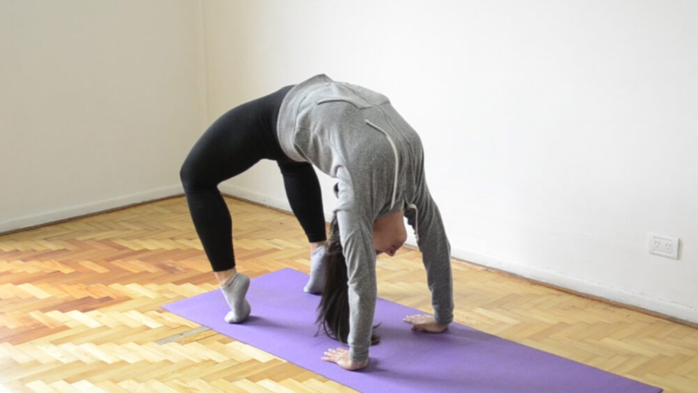 Puente de apoyo para aliviar el dolor de espalda baja