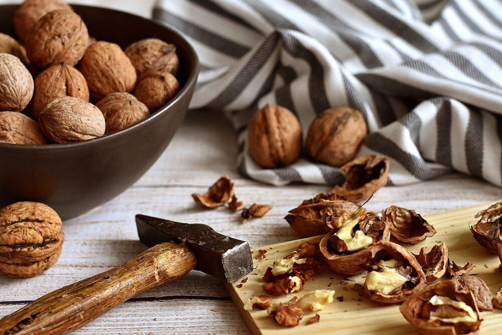 Refrigerio de nueces y semillas, o añadir a las recetas