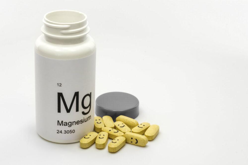 Tomar suplementos de magnesio