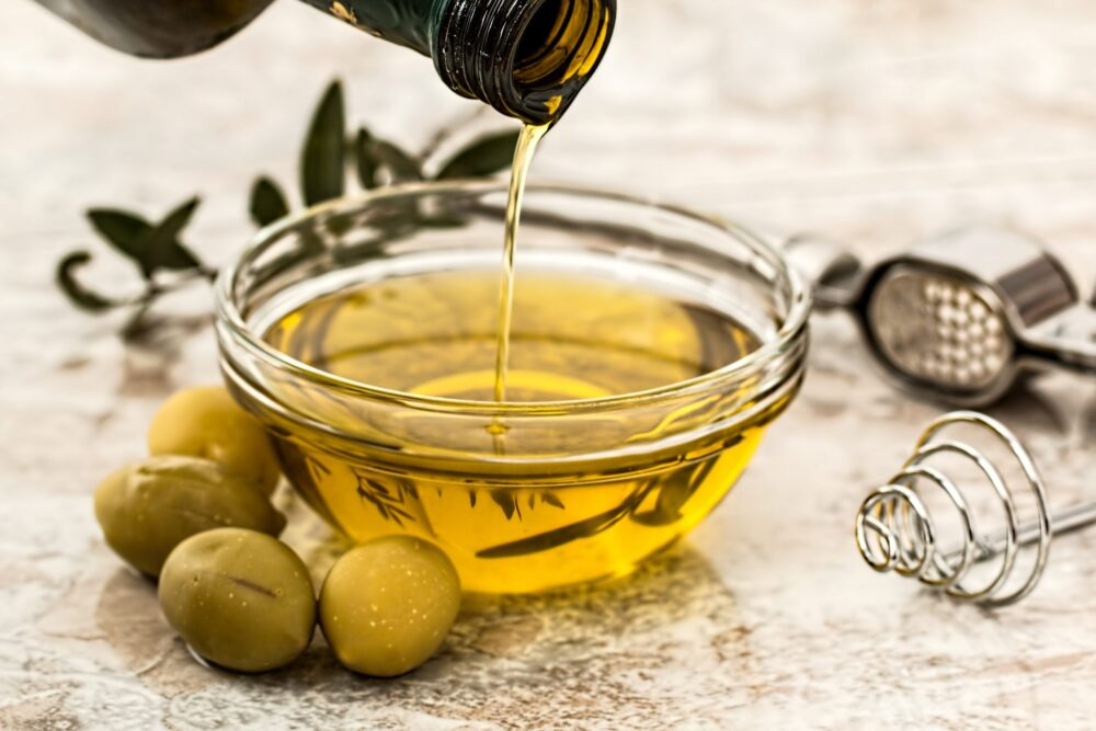 Use aceite de oliva virgen extra